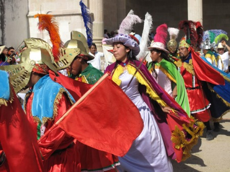 Todo un día dedicado a la danza en la Mixteca
